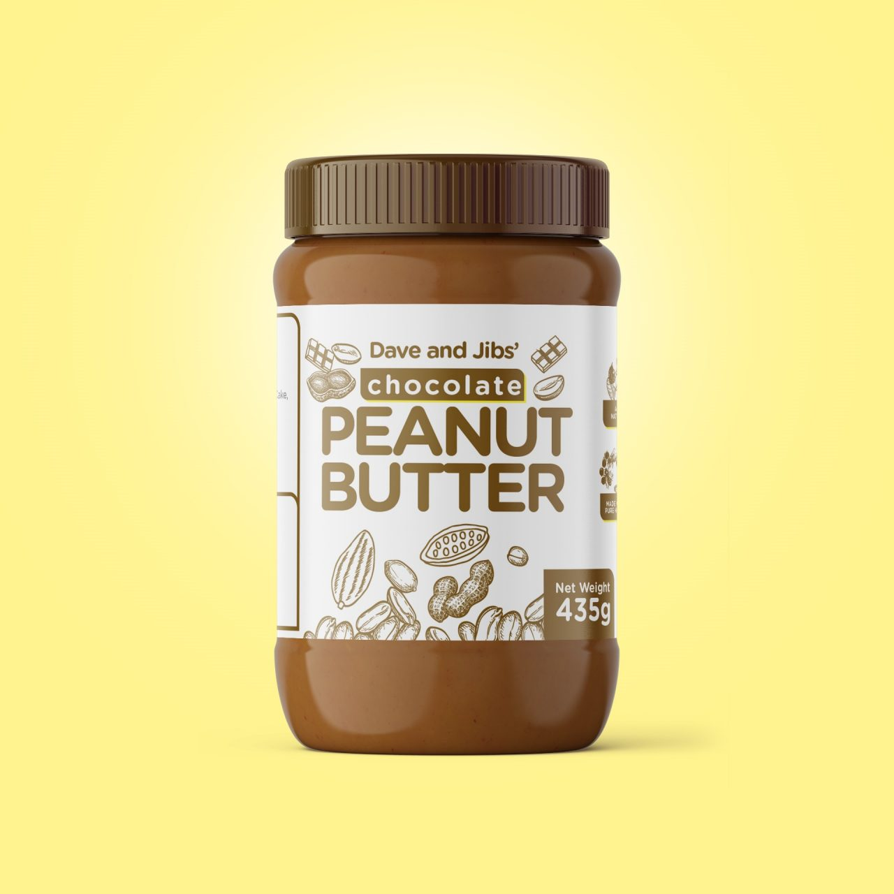 D and J peanut butter Original and chocolate